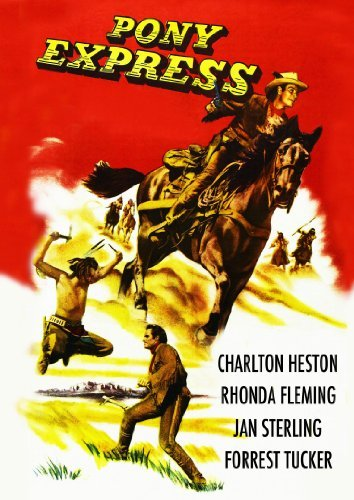 Pony Express (1953) Heston Fleming Sterling Nr