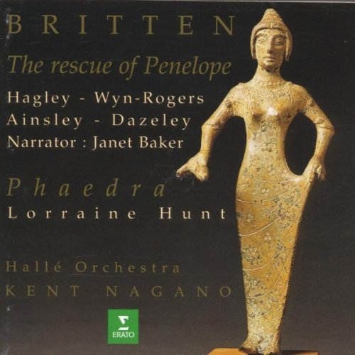 B. Britten Rescue Of Penelope Phaedra Hagley Rogers Ainsley Dazeley Nagano Halle Orch