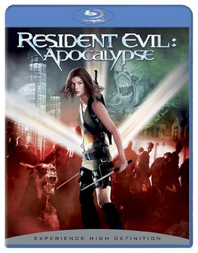 Resident Evil Apocalypse Jovovich Guilory Mabius Fehr Blu Ray R