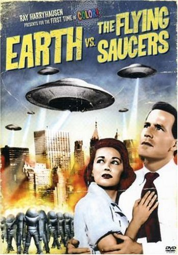Earth Vs The Flying Saucers Earth Vs The Flying Saucers Clr Bw Ws Pg13 2 DVD