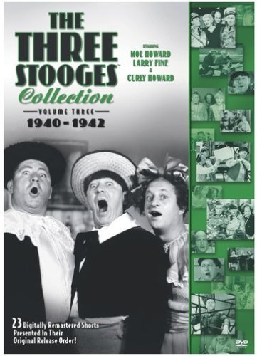 Three Stooges Vol. 3 Collection 1940 42 Nr 2 DVD
