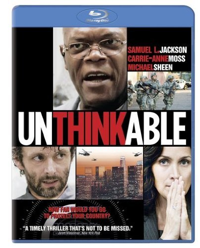 Unthinkable Jackson Moss Sheen Blu Ray Ws R