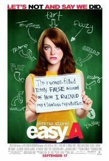 Easy A Stone Tucci Gigandet DVD Pg13 Ws