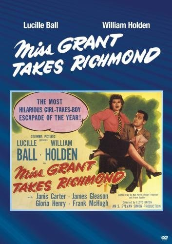 Miss Grant Takes Richmond Gleason Carter Ball Bw DVD R Nr