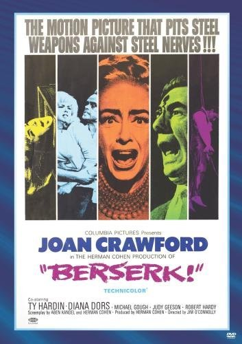 Berserk Crawford Dors Geeson Hardin DVD Mod This Item Is Made On Demand Could Take 2 3 Weeks For Delivery