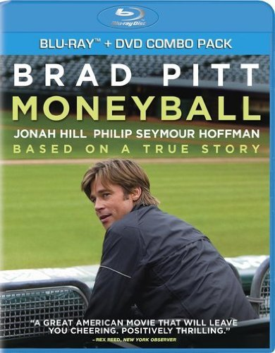Moneyball Pitt Hill Hoffman Wright Pg13 Incl. DVD