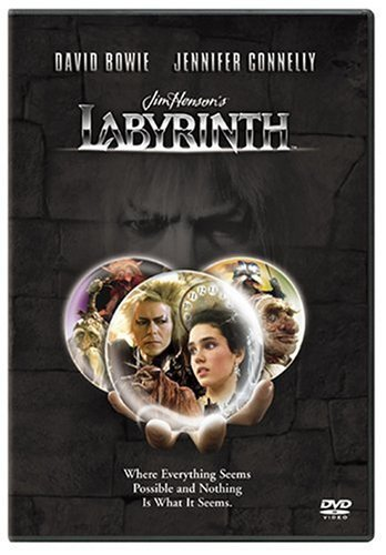 Labyrinth Bowie Connelly DVD Pg Ws