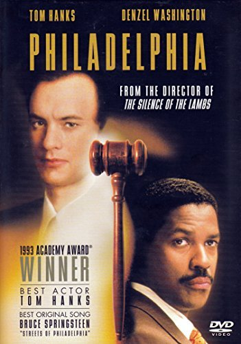 Philadelphia Hanks Washington DVD Pg13