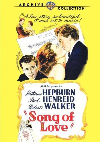 Song Of Love Hepburn Henreid Walker Carroll Bw DVD R Nr