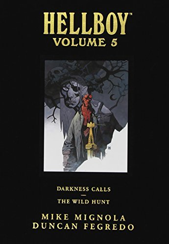 Mike Mignola Hellboy Library Edition Volume 5 Darkness Calls And The Wild Hunt