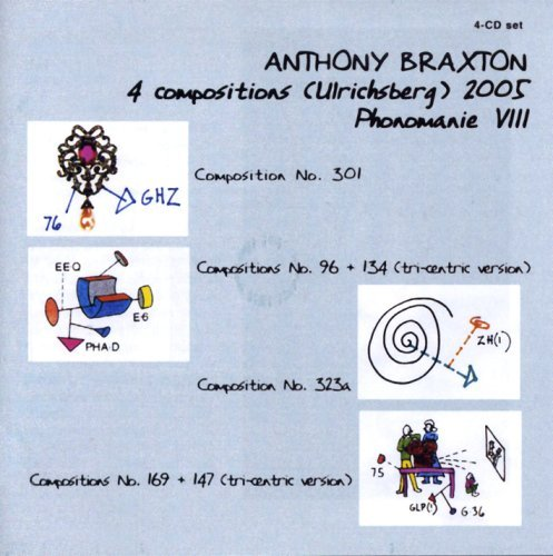 Anthony Braxton Phonomanie Viii 4 CD Set