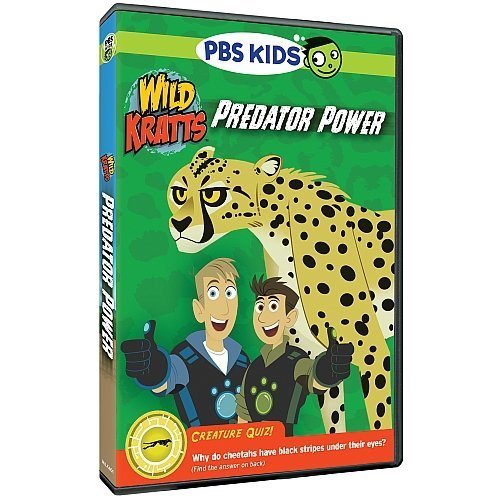 Wild Kratts Predator Power DVD Nr