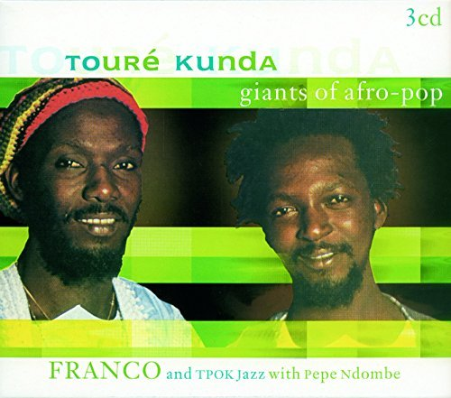 Toure & Franco Kunda Giants Of Afro Pop Import Eu 3 CD Set
