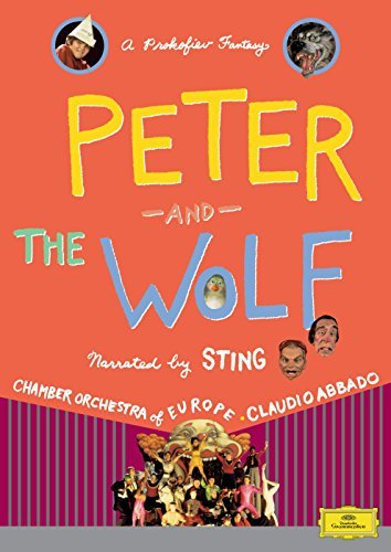 S. Prokofiev Peter & The Wolf Abbado Chamber Orch Of Europe