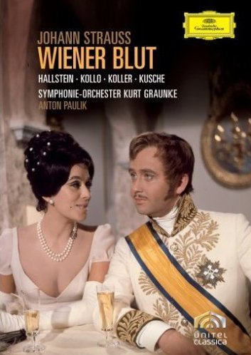 Rene Kollo Strauss Wiener Blut Import Can