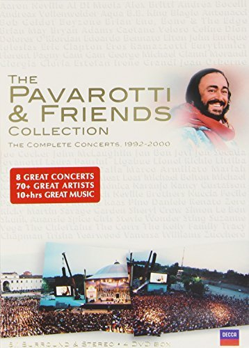 Luciano Pavarotti Pavarotti & Friends Collection Pavarotti (ten) & 4 DVD