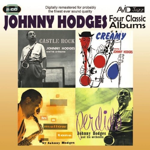 Johnny Hodges Four Classic Albums Import Gbr 2 CD