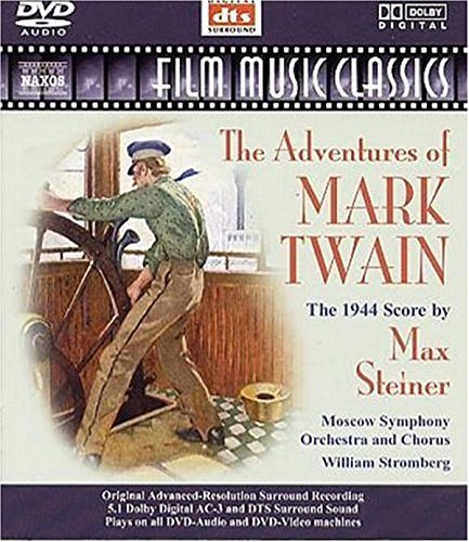M. Steiner Adventures Of Mark Twain DVD Audio Stromberg Moscow So