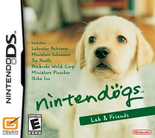 Nintendo Ds Nintendogs Lab Retriever
