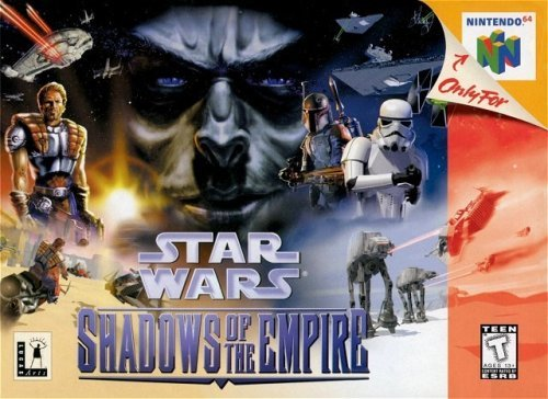 Nintendo 64 Star Wars Shadow Of Empire Rp