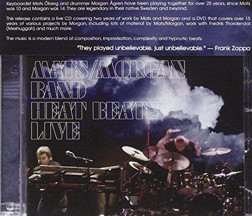 Mats Morgan Heat Beats Live Tourbook 1991 Incl. DVD