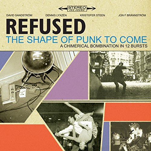 Refused Shape Of Punk To Come Deluxe Ed. 2 Lp 1 DVD