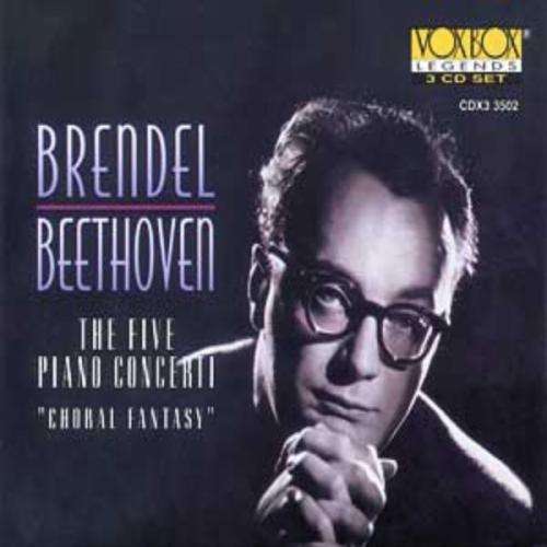 Ludwig Van Beethoven/Con Pno 1-5/Choral Fant@Various