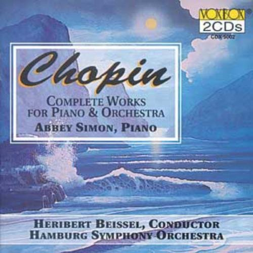Frédéric Chopin/Works For Pno & Orch-Comp@Beissel/Hamburg So