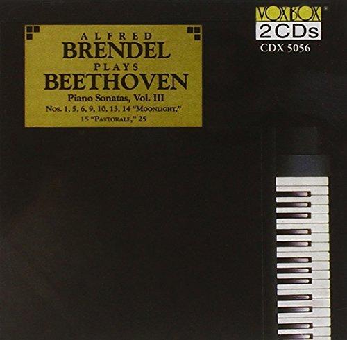 Ludwig Van Beethoven/Son Pno 1/5/6/9/10/13/14/15/25