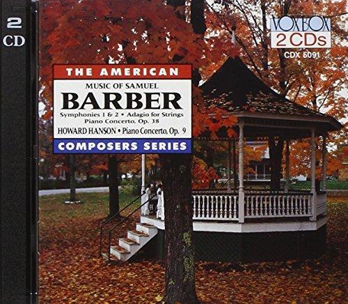 Barber/Hanson/Con Pno@Various