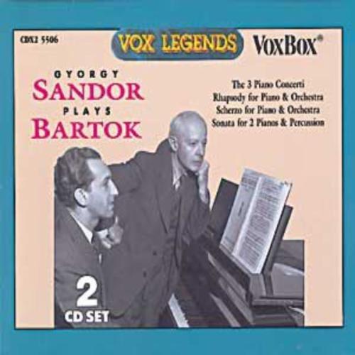 Béla Bartók/Con Pno 1-3/Son 2 Pnos & Perc/@Various