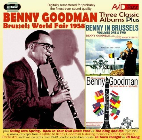 Benny Goodman Three Classic Albums Import Gbr 2 CD