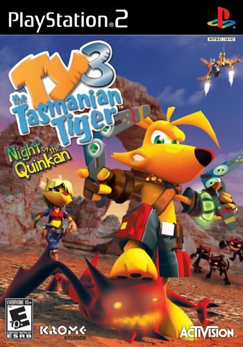 Ps2 Ty 3 Tasmanian Tiger