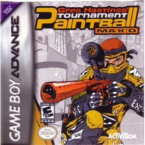 Gba Paintball Max'd Activision B