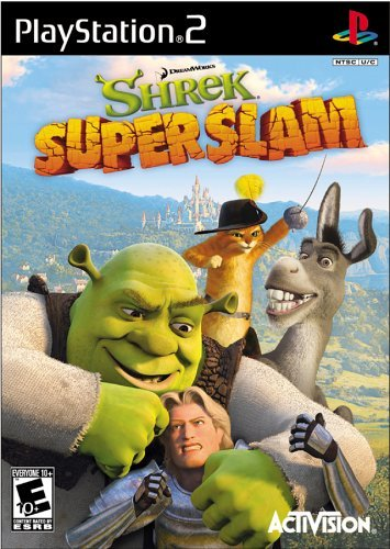 Ps2 Shrek Superslam