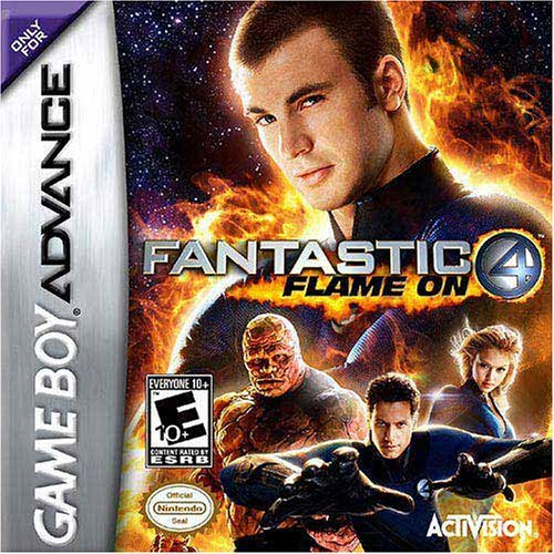 Gba Fantastic Four Human Torch