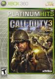 Xbox 360 Call Of Duty 3 Activision