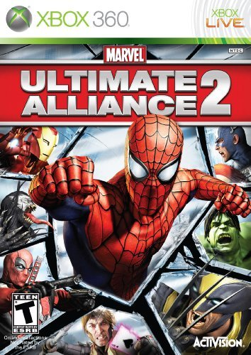 Xbox 360 Marvel Ultimate Alliance 2 Activision T