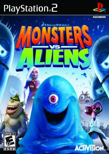 Ps2 Monsters Vs. Aliens
