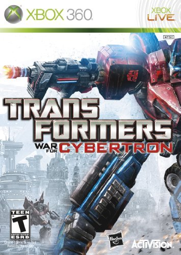 Xbox 360 Transformers War For Cybertron