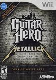 Wii Guitar Hero Metallica