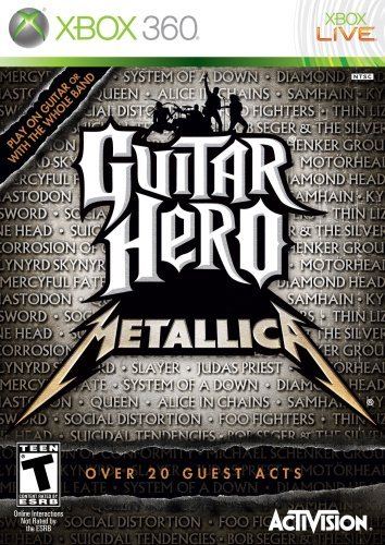 Xbox 360 Guitar Hero Metallica