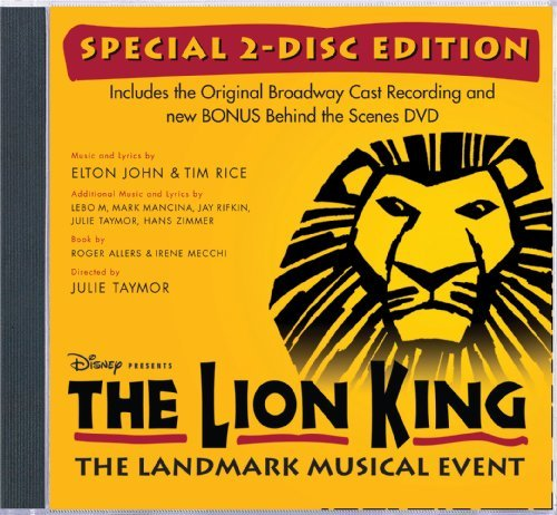 Lion King On Broadway Soundtrack Incl. Bonus DVD