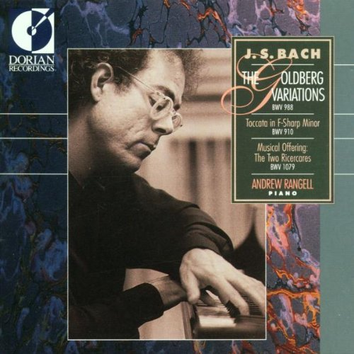 J.S. Bach Goldberg Var Toccata Ricercare Rangell*andrew (pno)