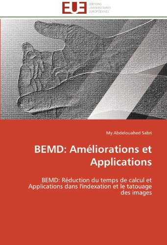 Sabri M Bemd Am?liorations Et Applications