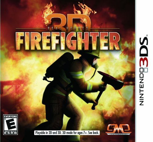 Nintendo 3ds Firefighter 3d Solutions 2 Go Inc. E10+