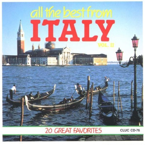 Italy All The Best From Vol. 2 Italy All The Best From Italy All The Best From