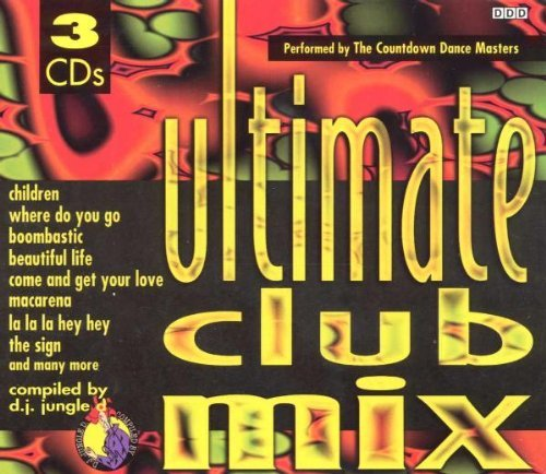 Countdown Dance Masters Ultimate Club Mix 3 CD Set
