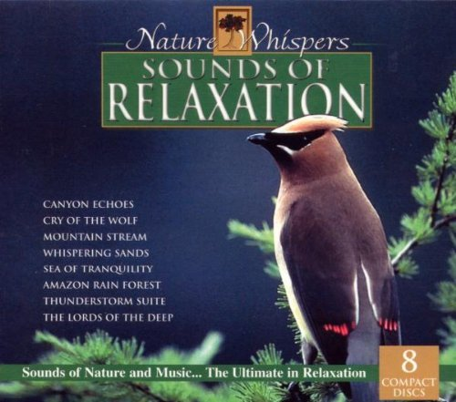 Nature Whisper's Sounds Of Relaxation Canyon Echoes Mountain Stream 8 CD Set