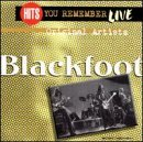 Blackfoot Hits You Remember Live Hits You Remember Live